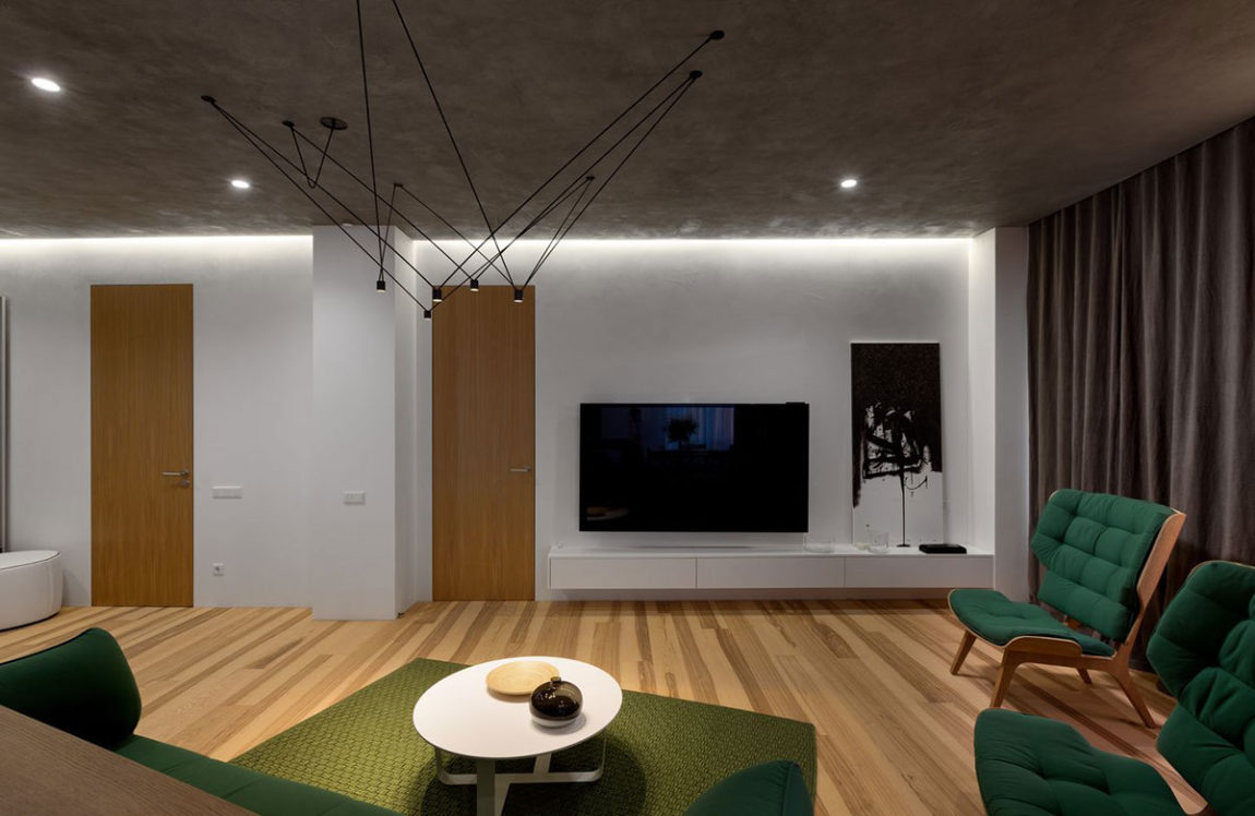 Minimalist design in Kiev by Sergey Makhno Architects (6)