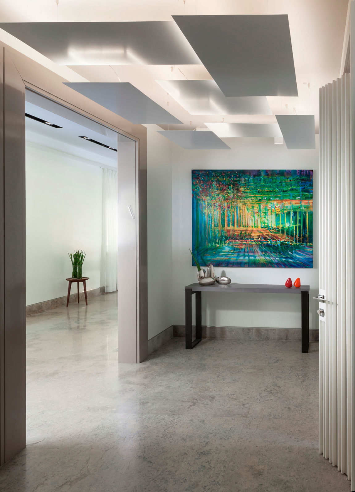Modern Garden Apartment by Annette Frommer (1)