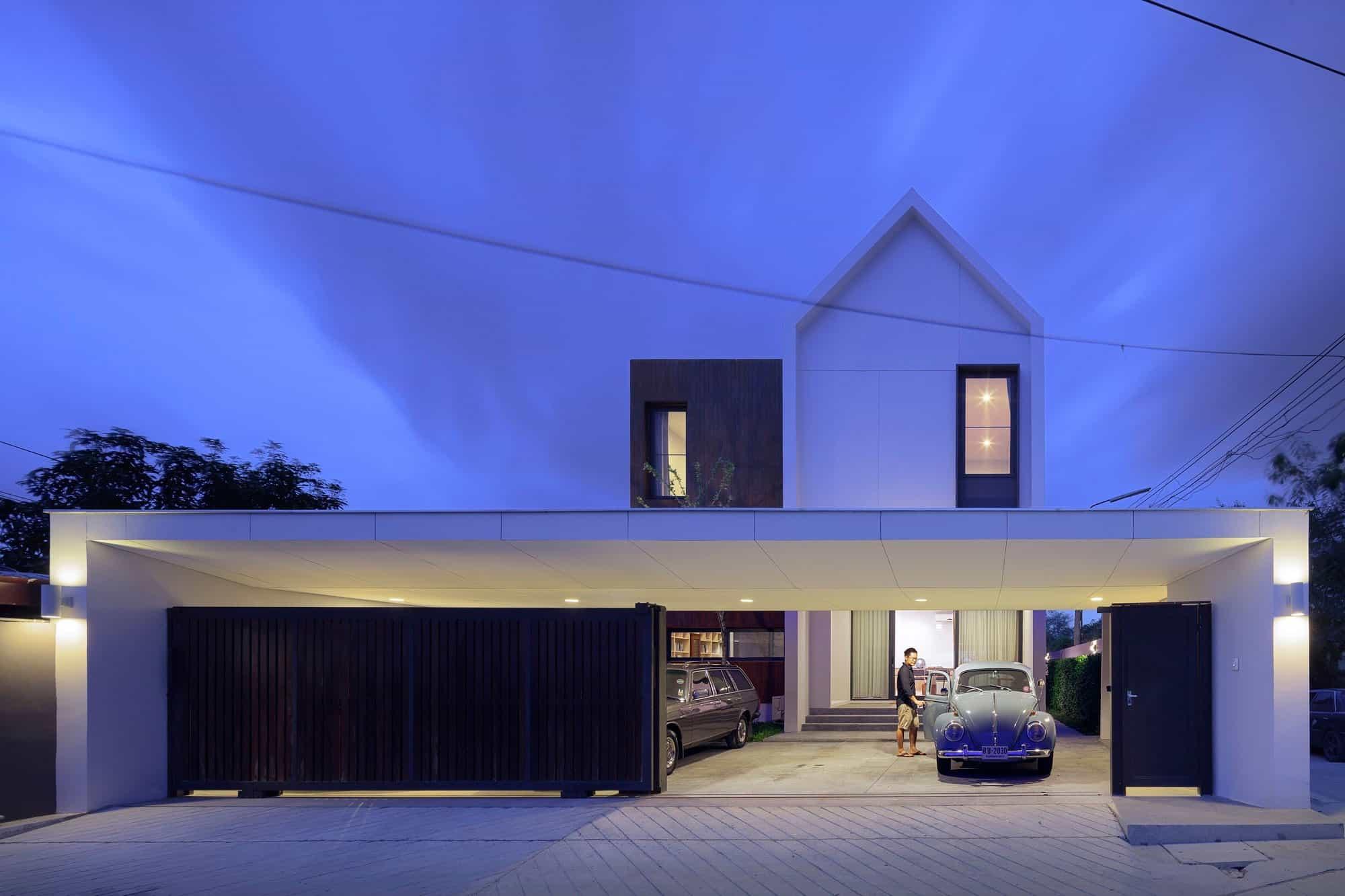 I Like Design Studio Creates a Private Residence in Bangkok