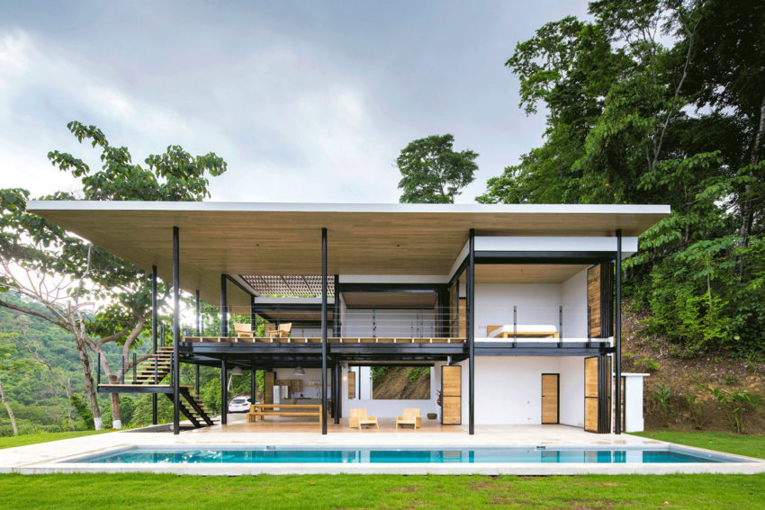Benjamin Garcia Saxe Designs A Home In Costa Rica With Ocean Views