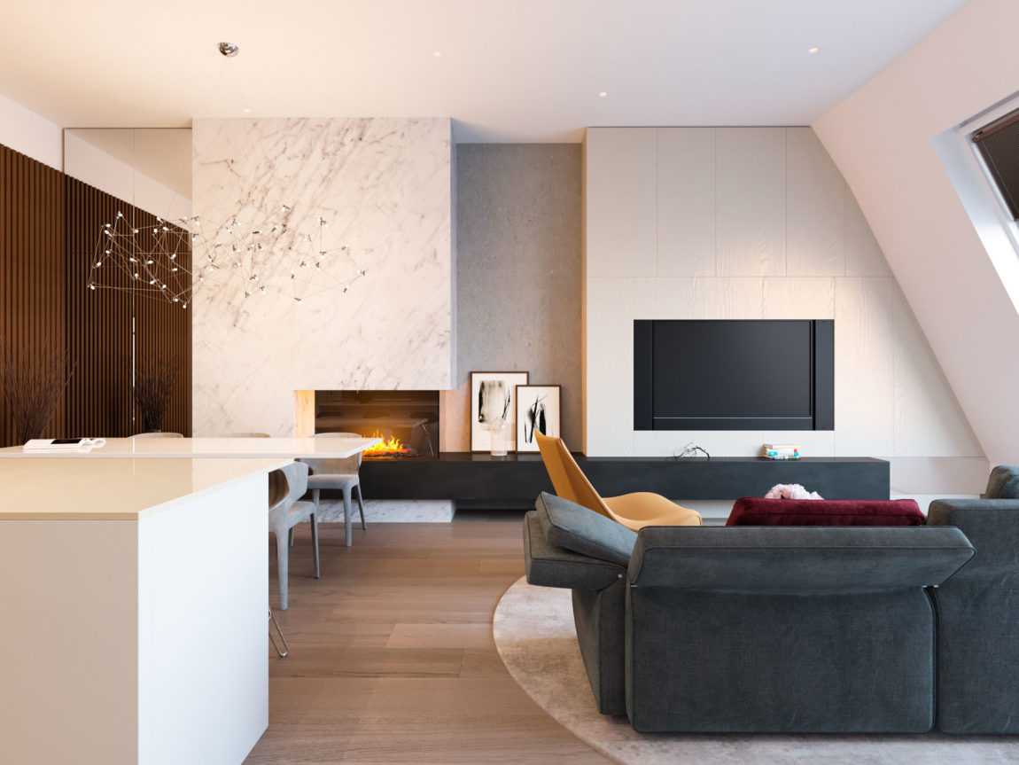 Penthouse in Moscow by Shamsudin Kerimov architects (3)