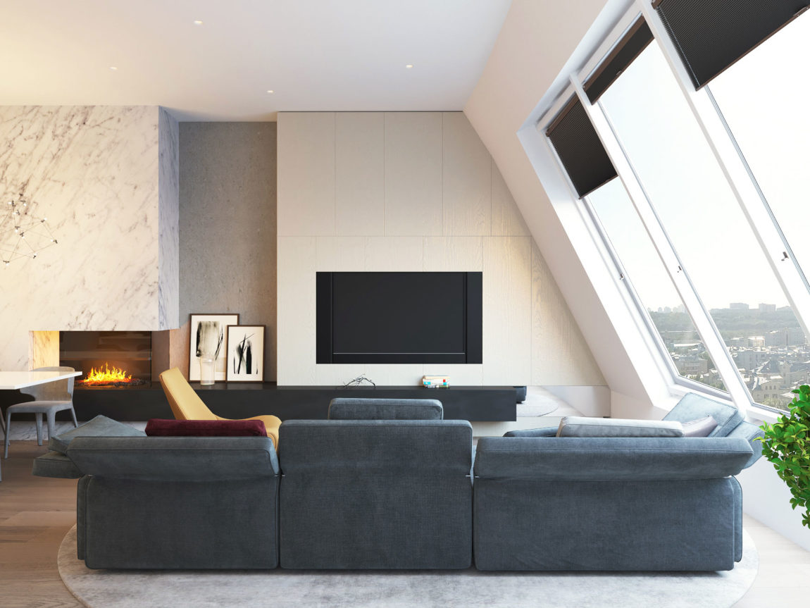 Penthouse in Moscow by Shamsudin Kerimov architects (4)
