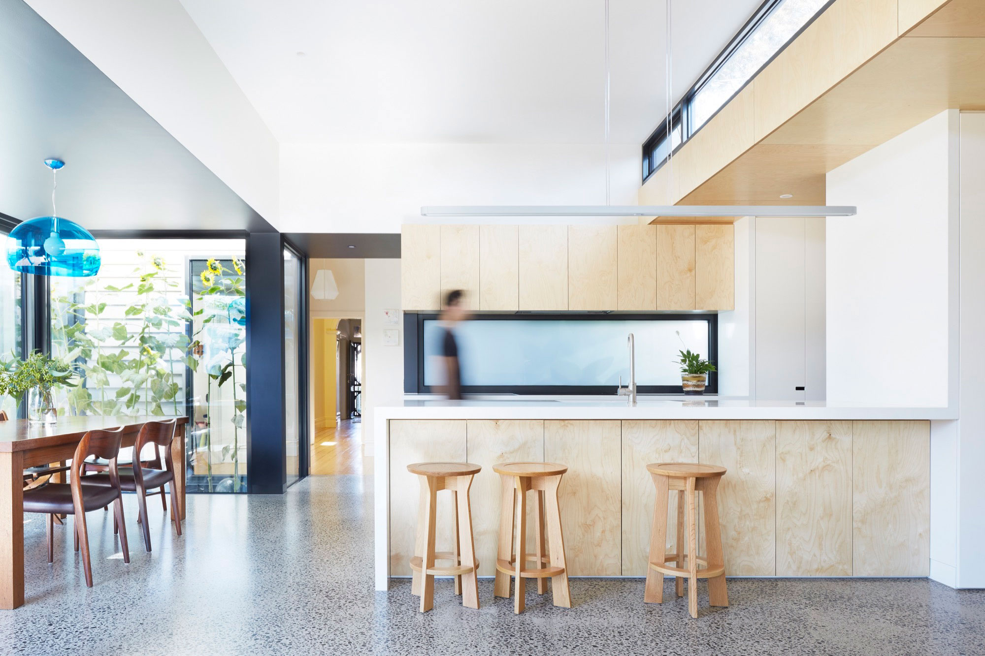 Nic Owen Architects Extend a Home for a Family of Five