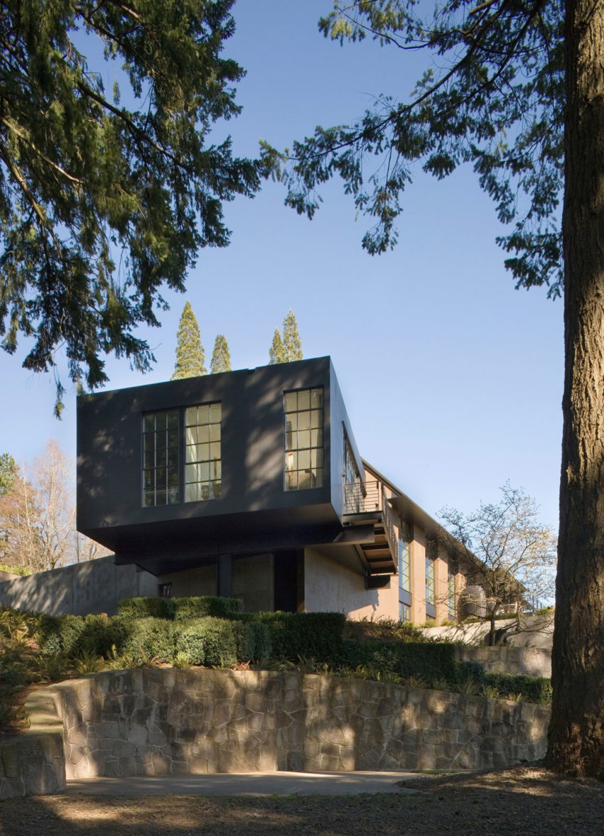 Portland Hilltop House by Olson Kundig (1)