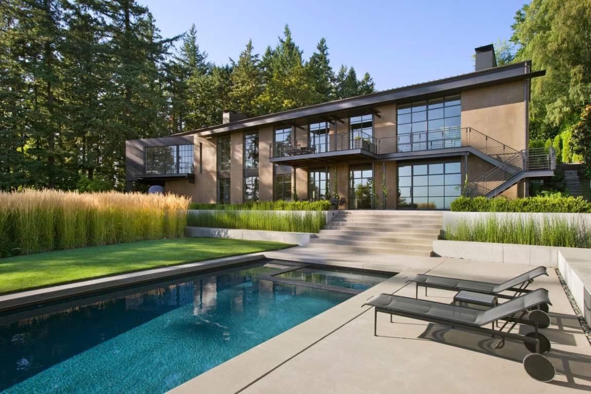 Portland Hilltop House by Olson Kundig (3)