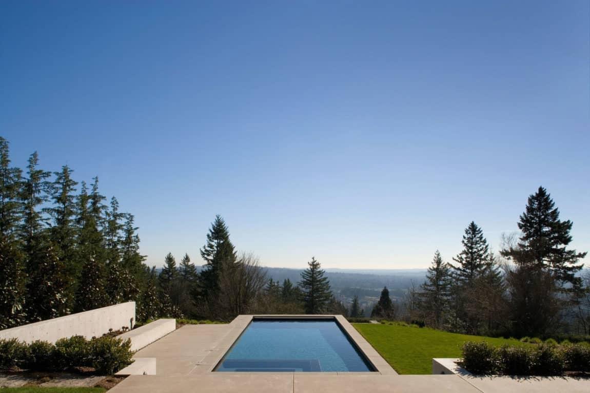 Portland Hilltop House by Olson Kundig (4)