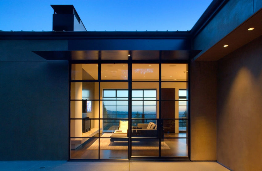 Portland Hilltop House by Olson Kundig (18)