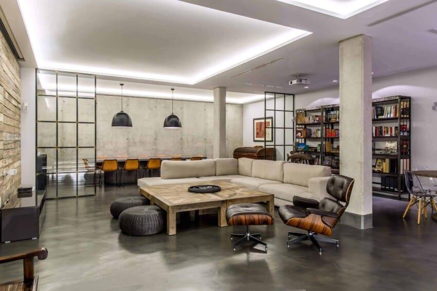 Marisa Gonzalez LLanos Designs A Stylish Industrial Home In Madrid, Spain