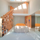 Bookshelf House by Andrea Mosca Creative Studio (2)