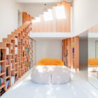 Bookshelf House by Andrea Mosca Creative Studio (3)