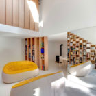 Bookshelf House by Andrea Mosca Creative Studio (4)