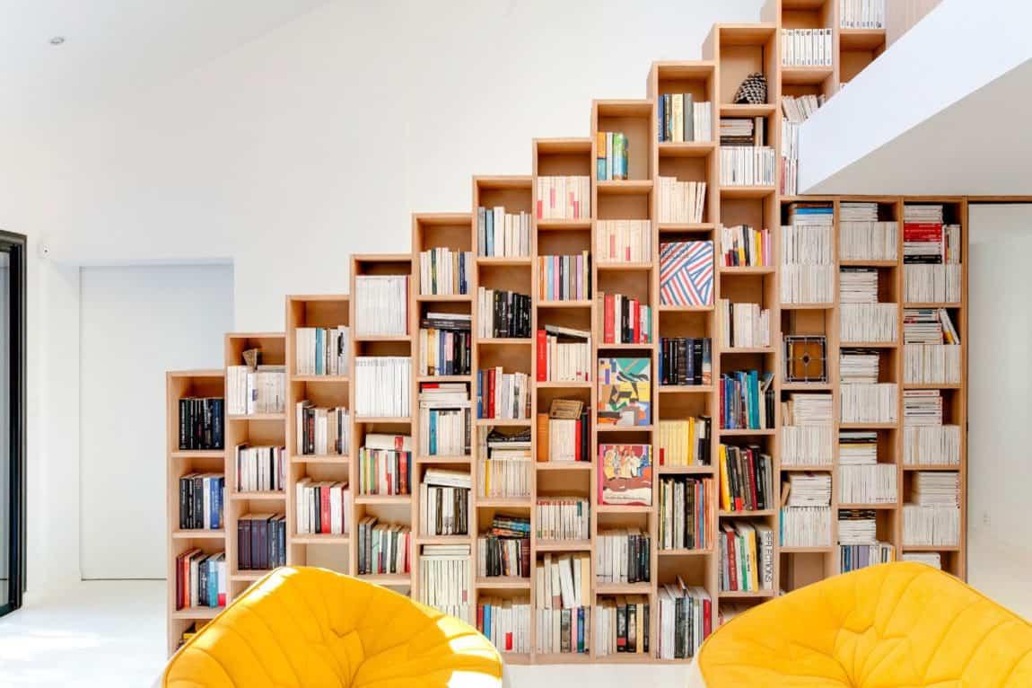 Bookshelf House by Andrea Mosca Creative Studio (5)