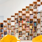 Bookshelf House by Andrea Mosca Creative Studio (5)