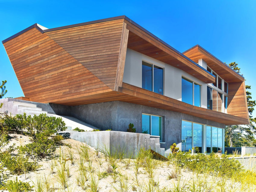 Hariri hariri architecture designs a beach house in cape for Cape cod architects