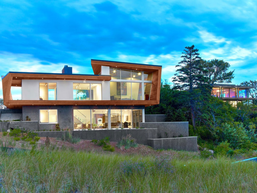 Cape Cod Beach House by Hariri & Hariri Architecture (18)