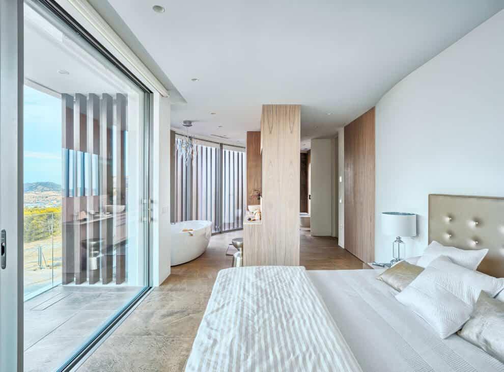 Gestec Designs a Spacious Contemporary Home in Finestrat, Spain