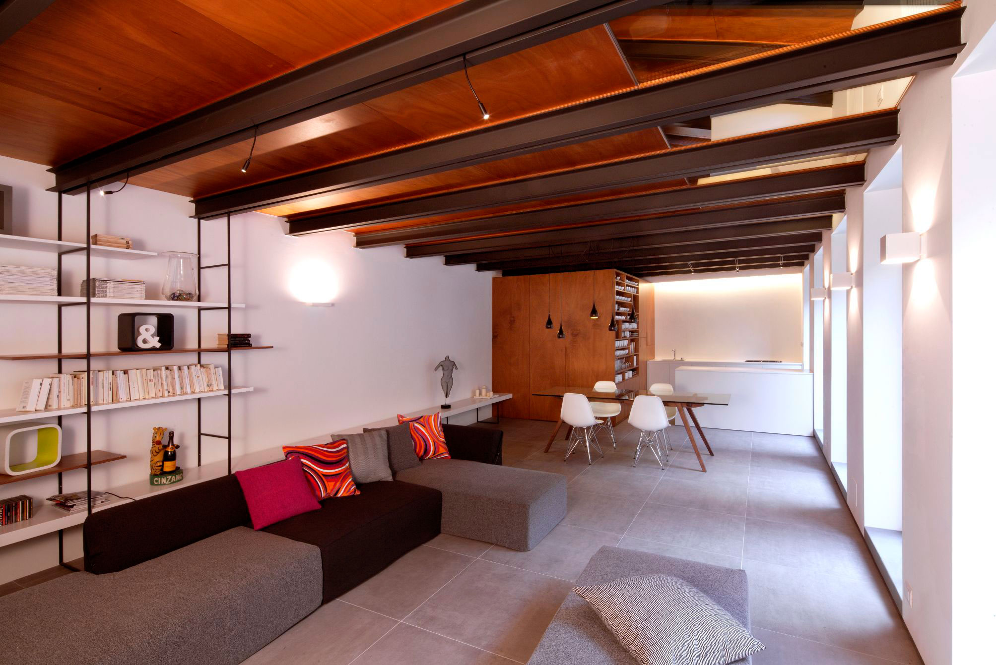 Paola Maré Turns an Old Carpentry into a Contemporary Loft in Turin, Italy