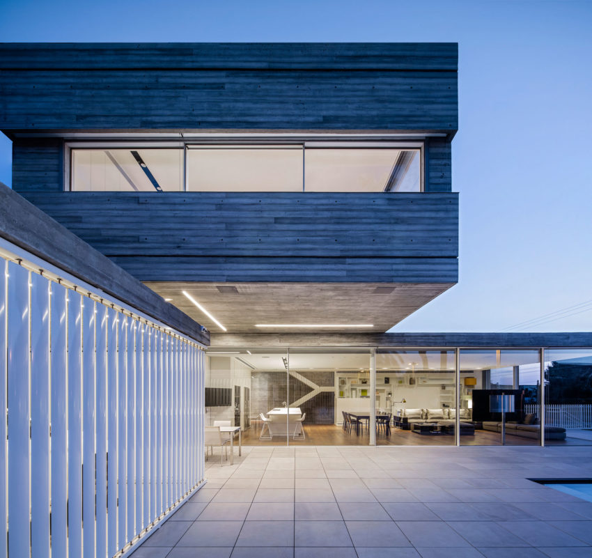Dual House by Axelrod Architects (9)