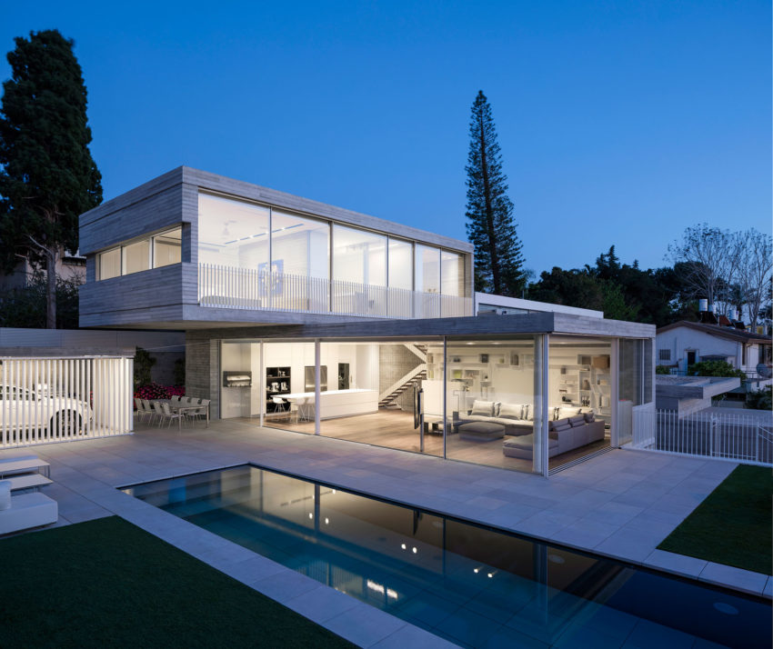 Dual House by Axelrod Architects (11)