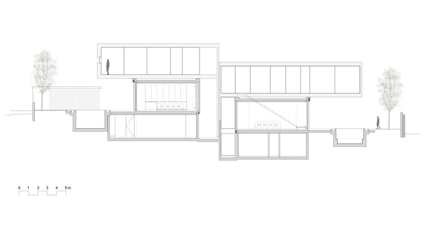 Dual House by Axelrod Architects (20)