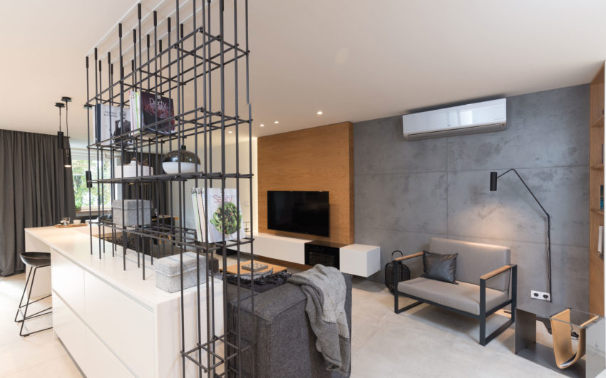 Grey & Wood Apartment by OOOOX (3)
