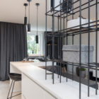 Grey & Wood Apartment by OOOOX (4)