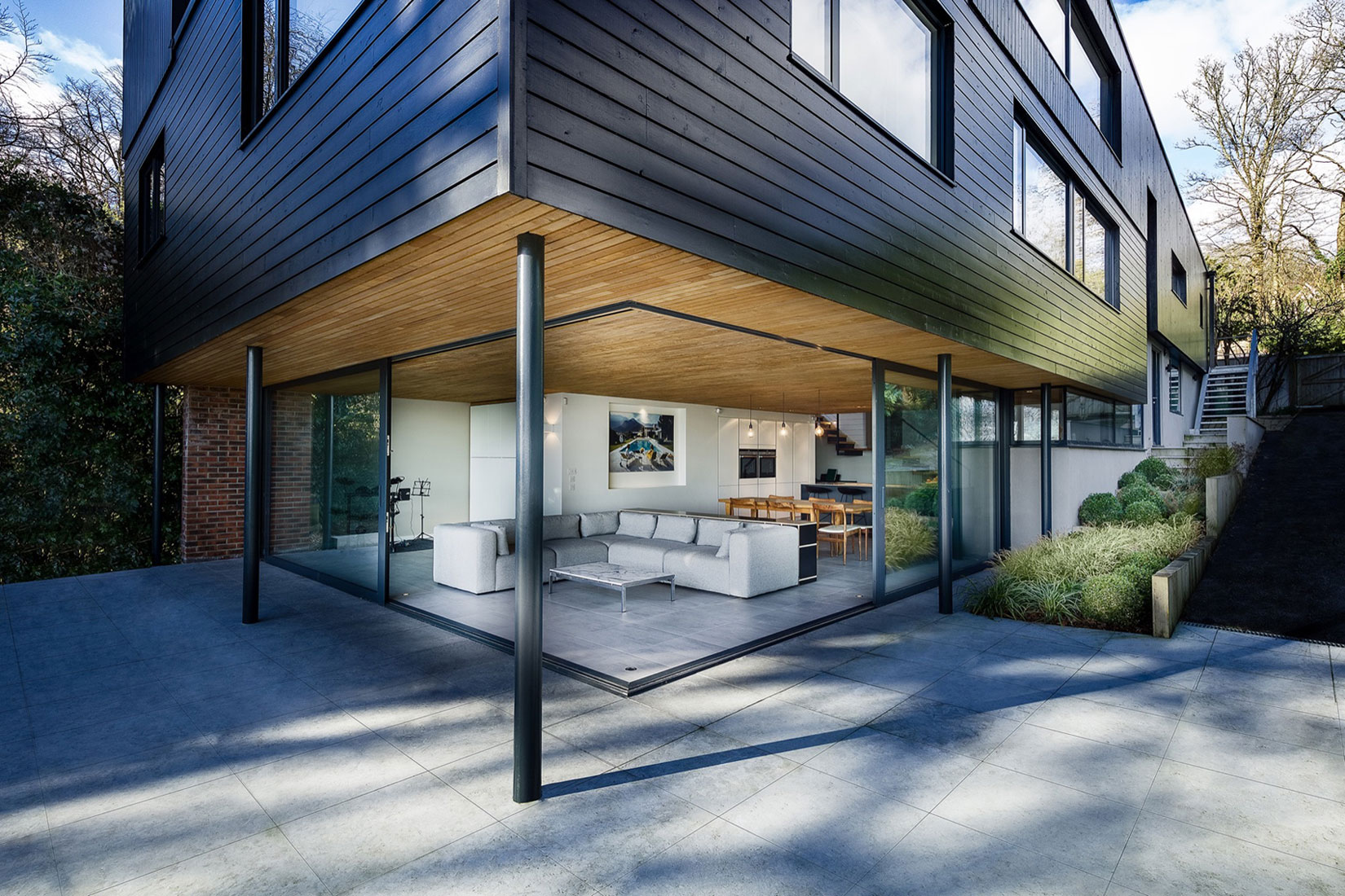 Ström Architects Remodel a Home in Winchester, England