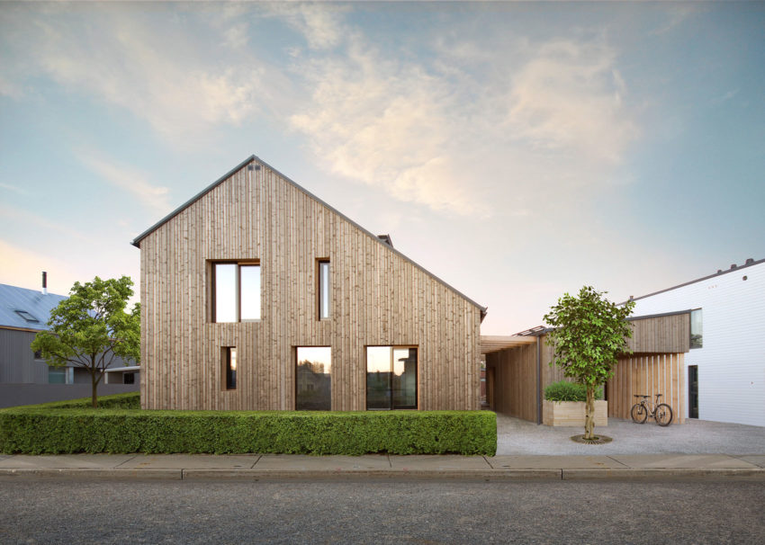 Honkarakenne Designs A Modern Eco Home For Three Generations In