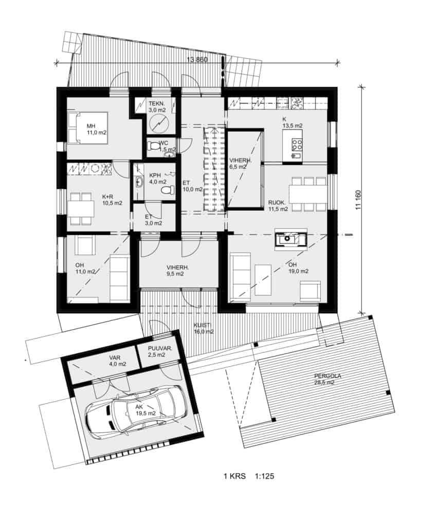 House Savukvartsi by Honkarakenne (12)