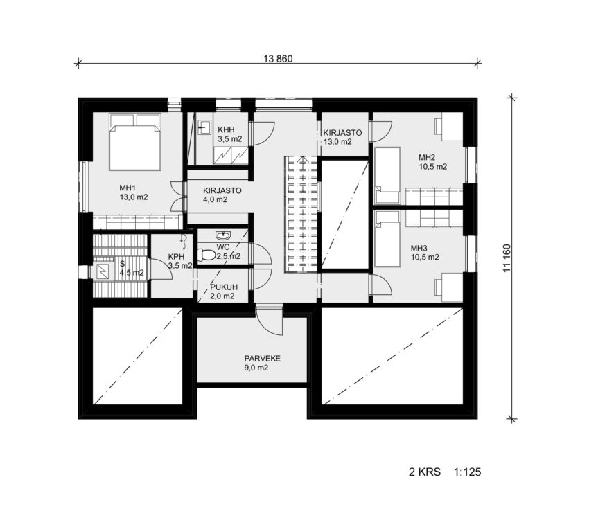 House Savukvartsi by Honkarakenne (13)