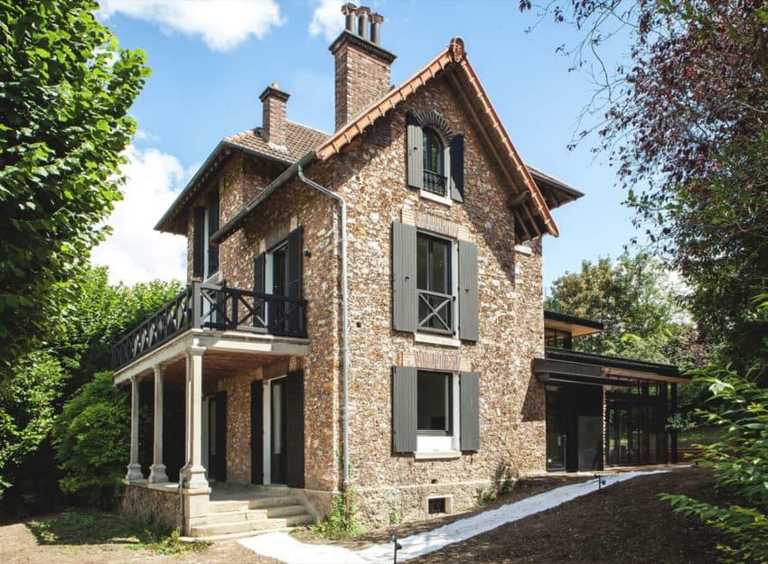 Maison Hauts de Seine by Atelier Lame Architecture (1)