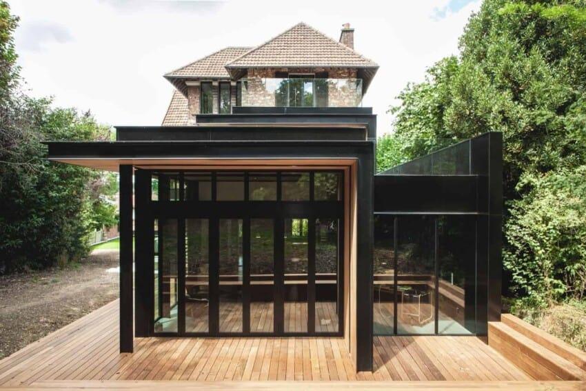 Maison Hauts de Seine by Atelier Lame Architecture (3)