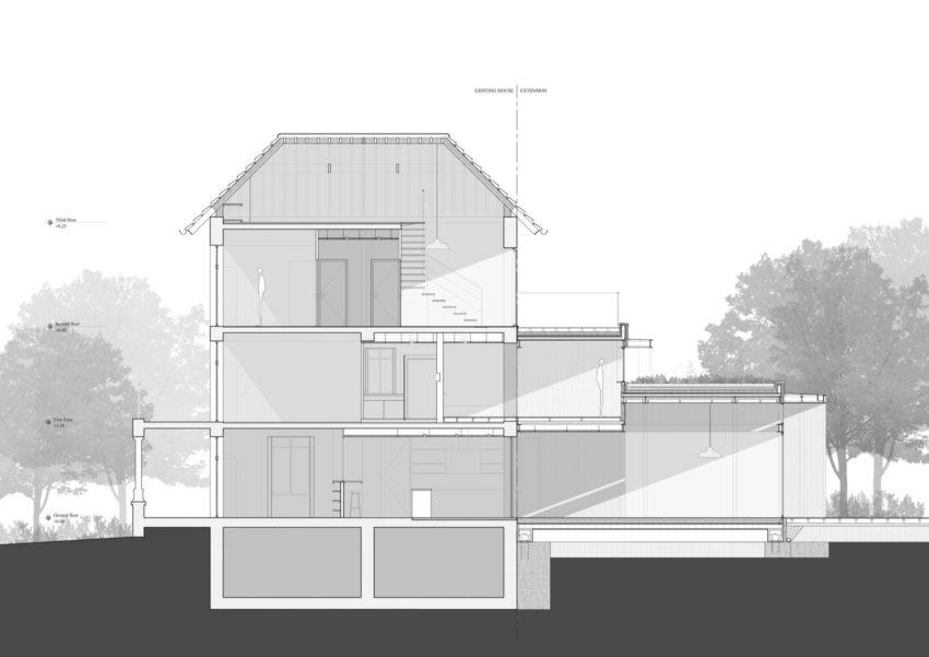 Maison Hauts de Seine by Atelier Lame Architecture (20)