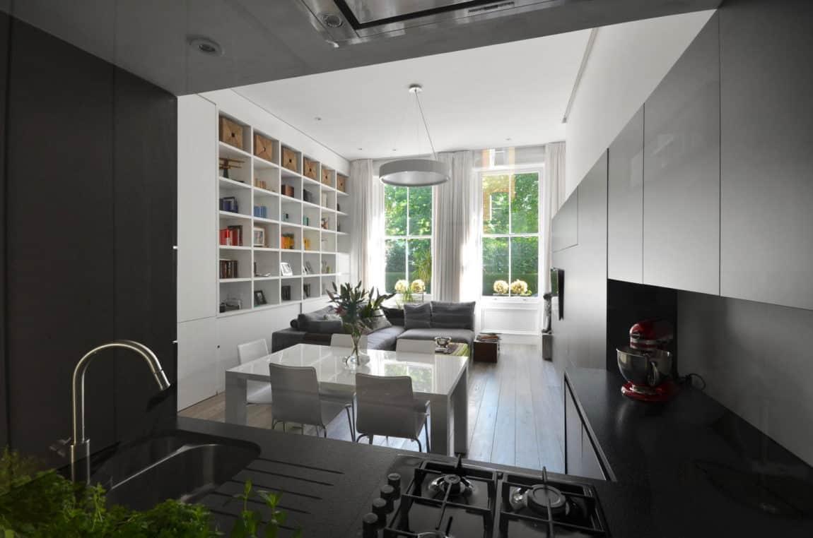 Nevern Square Apartment by Daniele Petteno Architecture (3)