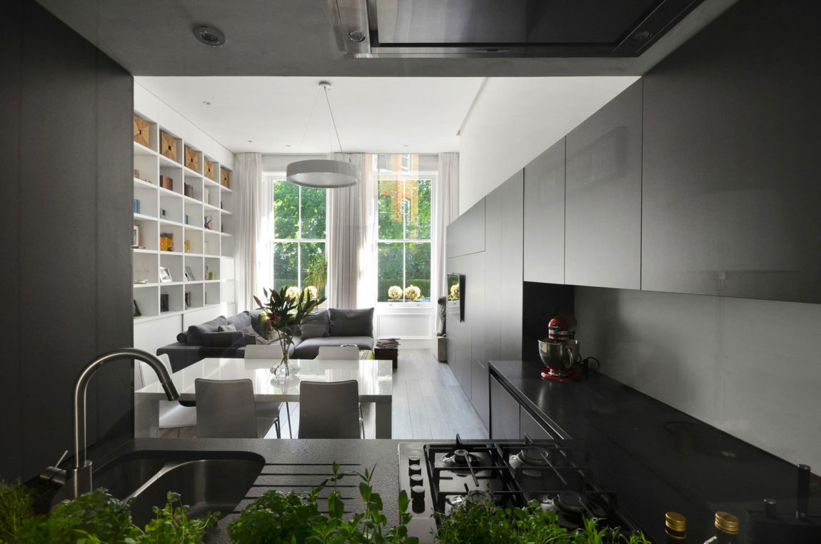 Nevern Square Apartment by Daniele Petteno Architecture (4)
