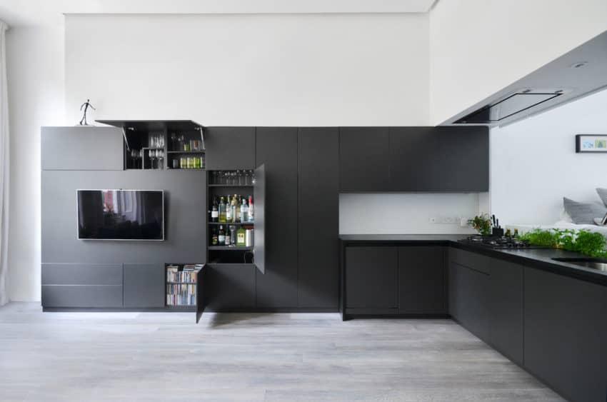 Nevern Square Apartment by Daniele Petteno Architecture (10)