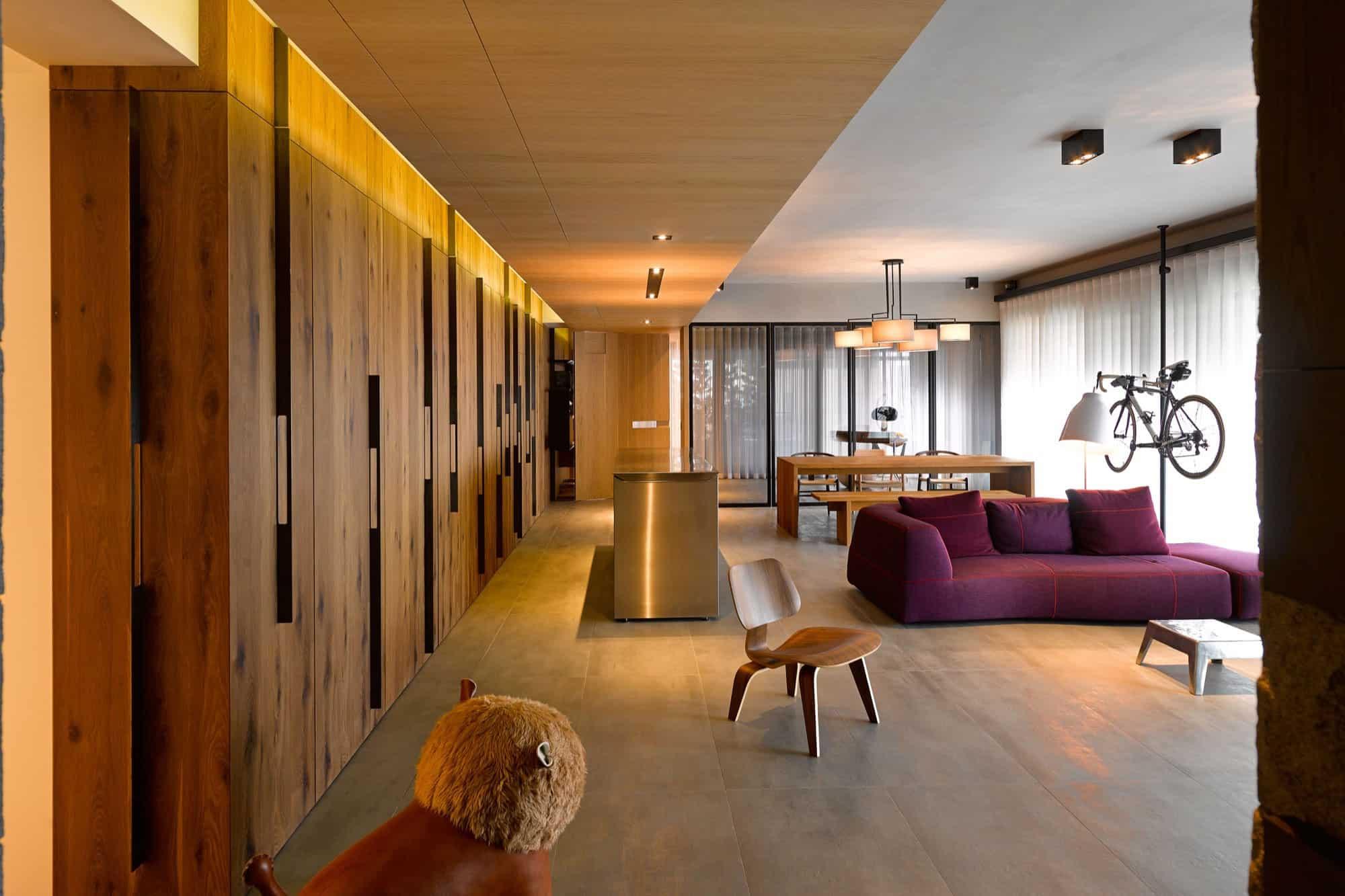 Create think design studio create an elegant apartment in taipei city taiwan