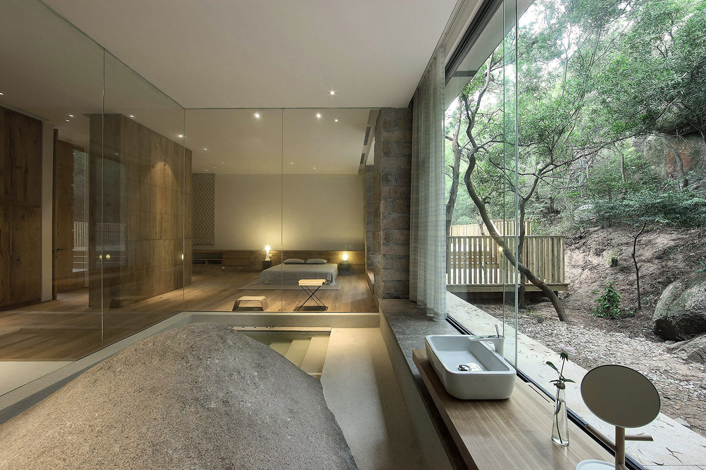 FMX Interior Design Creates a Private Residence in Southwest China