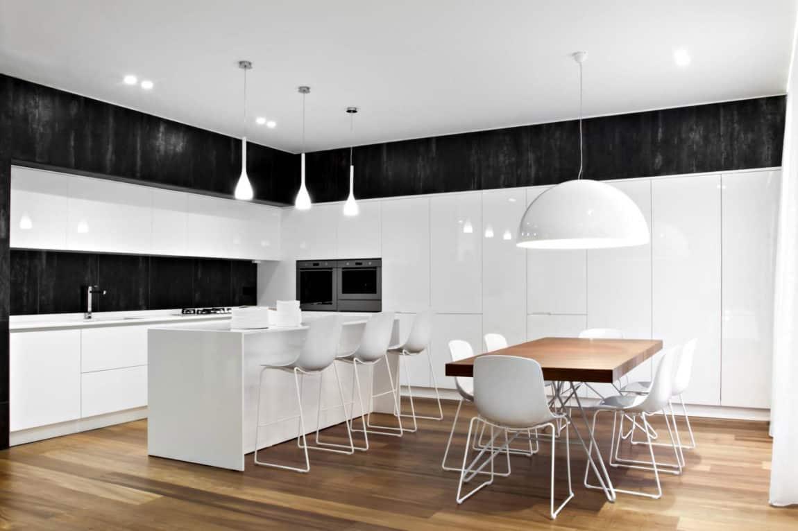 M12 architettura design creates an elegant apartment in for Architettura design