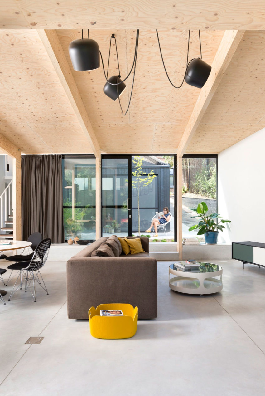 Semi Detached Home in Leuven by Rob Mols Architect (2)