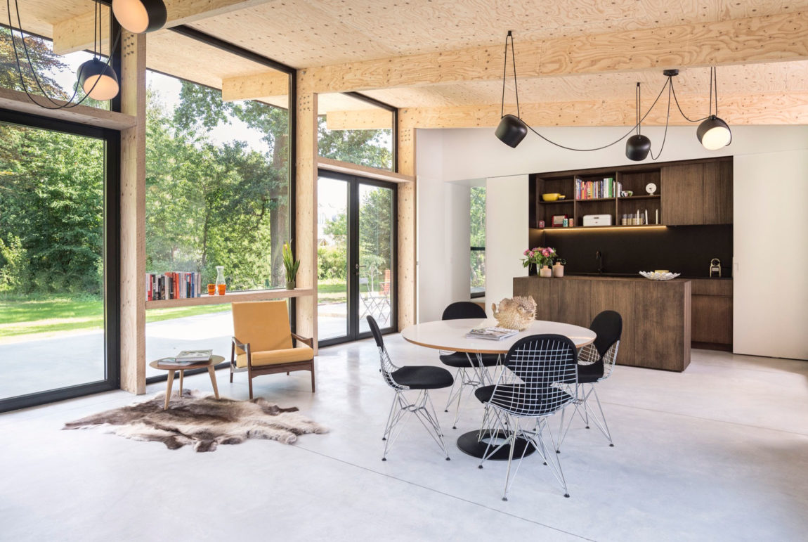 Semi Detached Home in Leuven by Rob Mols Architect (3)