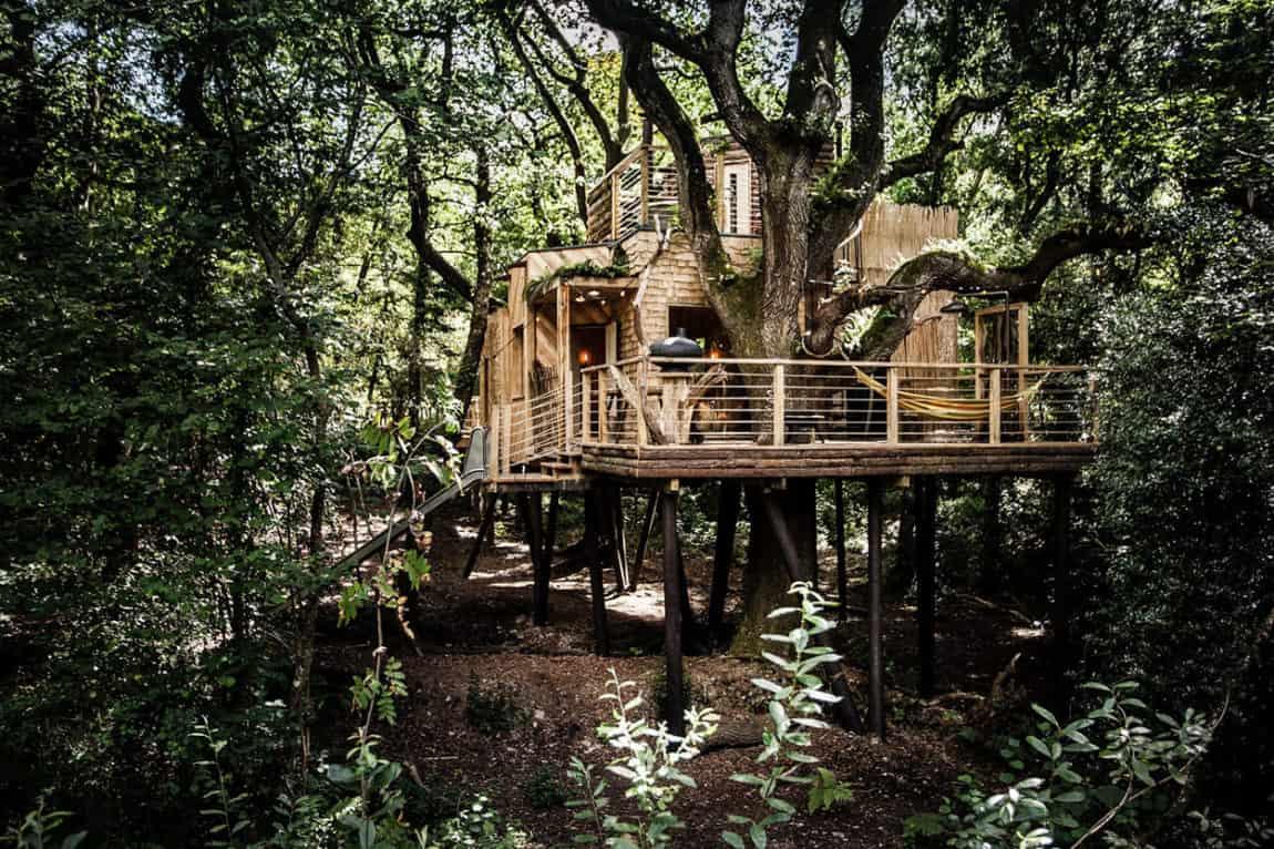 The Woodman's Treehouse by Mallinson Ltd & BEaM studio (1)
