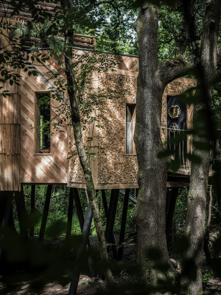 The Woodman's Treehouse by Mallinson Ltd & BEaM studio (3)