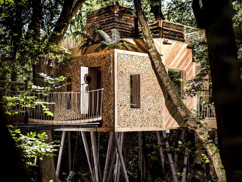 The Woodman's Treehouse by Mallinson Ltd & BEaM studio (4)