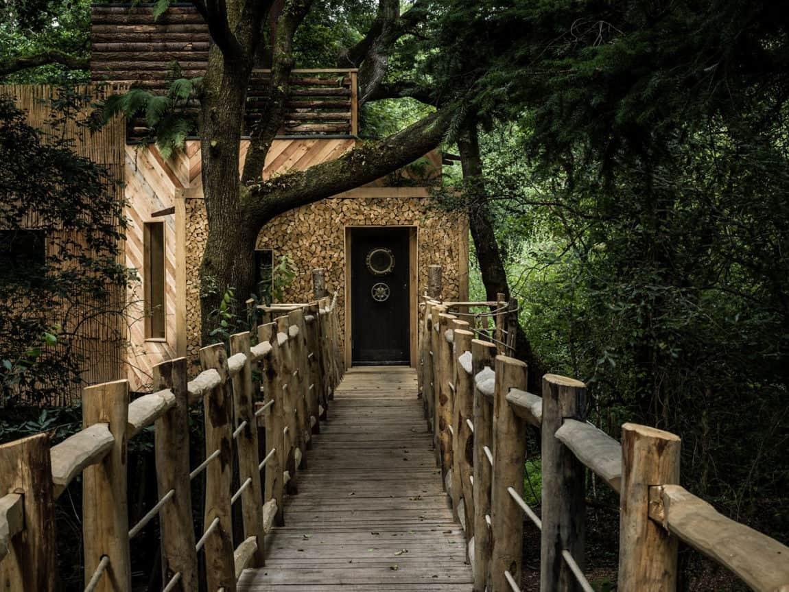 The Woodman's Treehouse by Mallinson Ltd & BEaM studio (5)
