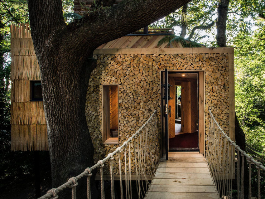The Woodman's Treehouse by Mallinson Ltd & BEaM studio (6)