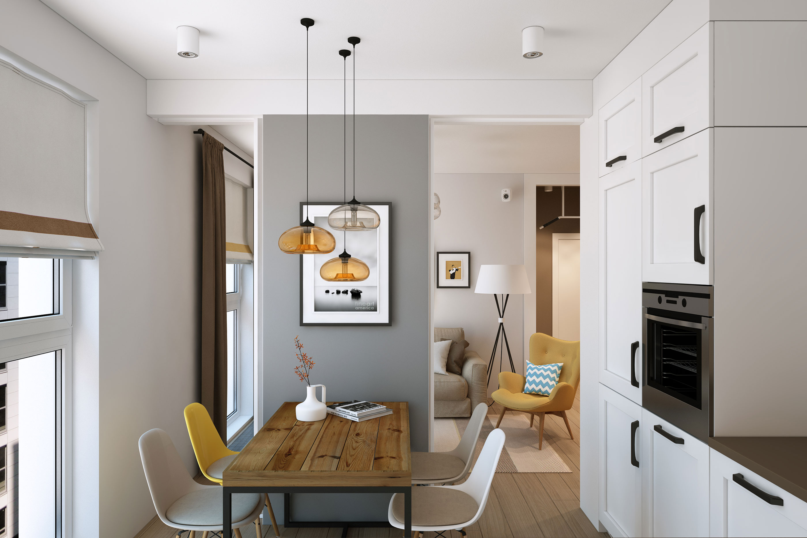 Geometrium Visualizes a Home for a Young Family in Moscow