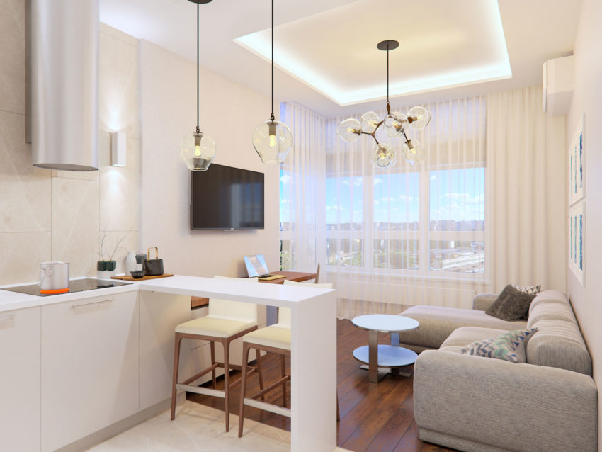 Apartment for a Student in Kiev by Mooseberry design (3)