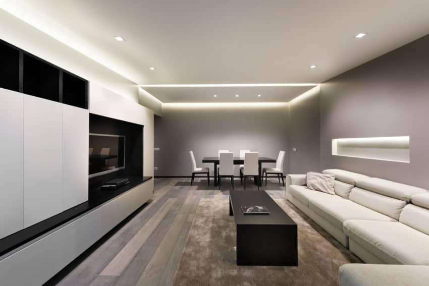 Best view in gallery attico a roma by cmt architetti with for Architetto di interni roma