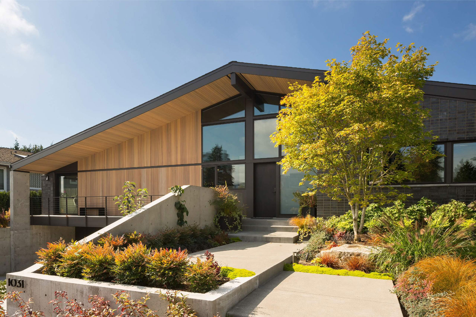 Lane Williams Architects Design A Private Residence In Vuecrest A Neighborhood Of Bellevue